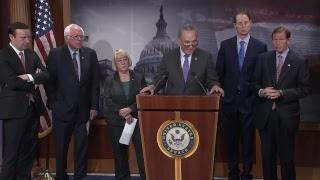 Senate Dems Discuss Newly Released CBO Score & TrumpCare