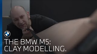 The BMW M5   Clay Modelling