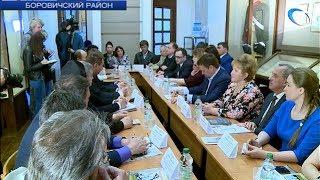 Андрей Никитин пообщался с представителями музейного сообщества и турбизнеса Боровичей