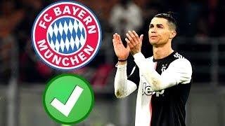 """Unglaublich: Für """"nur"""" 60 Mio! Bayern holt Cristiano Ronaldo !"""