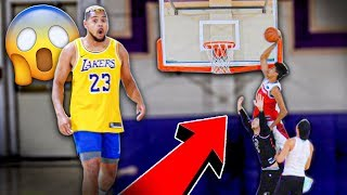 MY CRAZY DUNK ON JESSER! First 2HYPE Hoop Session! 3 VS 3 BASKETBALL