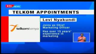 Telkom appoints James Kamau and Levi Nyakundi as head of supply chain and chief marketing officer