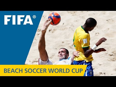 VIDEO: HIGHLIGHTS: Brazil v. Russia - FIFA Beach Soccer World Cup 2015