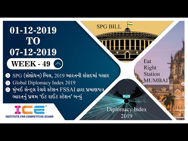 ICE CURRENT NEWS 1st December TO 7th December 2019