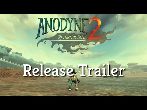 Anodyne 2: Return to Dust - Release Trailer (Available now!) thumbnail