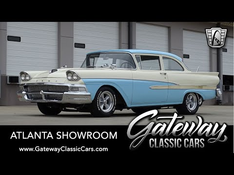 1958 Ford 300 For Sale Gateway Classic Cars of Atlanta #1396