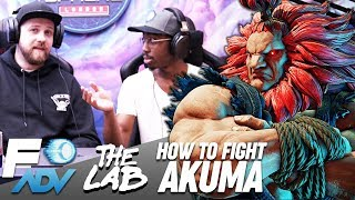 Akuma: The Lab // Tutorial by Tyrant and Packz // Street Fighter V Arcade Edition
