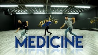 "Jennifer Lopez   ""Medicine"" Ft. French Montana (Dance Video) Choreography 