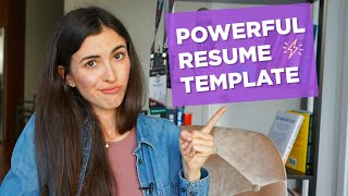 How to write a strong resume/CV (WITH A TEMPLATE) (Get Accepted to Your Dream University Part #10)