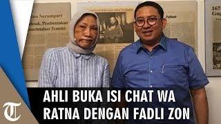 Isi Pesan WA ke Fadli Zon Diungkap Ahli, Terkuak Skenario Hoaks Ratna Sarumpaet