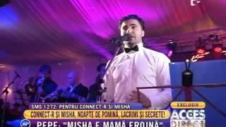 Tatăl lui Connect-R a cântat la nuntă fiului!