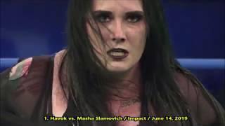 Jessica Havok - All Tombstone Piledrivers And Chokeslams - 2020 Moves