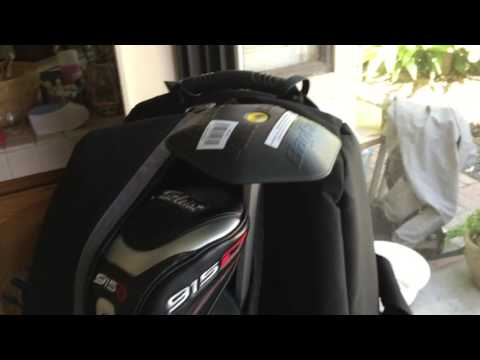 CaddyDaddy Constrictor II 2 Golf Bag Travel Cover & Bag Boy Backbone Quick Review