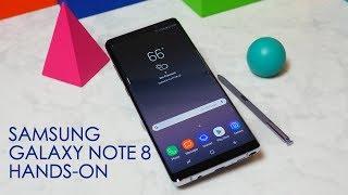 Samsung Galaxy Note 8 hands-on