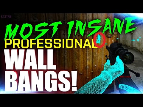 CS:GO | MOST INSANE PRO WALLBANGS! ft. Shroud, kennyS, Skadoodle & More!
