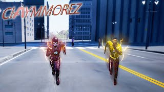 THE FLASH VS KID FLASH RACE! Who is The Fastest Man Alive? (Crisis On Earth One Full Game)