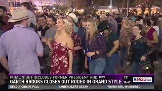 Garth Brooks closes out RodeoHouston with record-breaking attendance