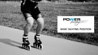 Powerskating Training 1: Basic Skating Position