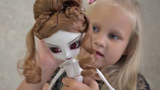 Алиса получила ПОСЫЛКУ с ВАМПИРОМ !!! Pullip Kamilla doll vampire bit Barbie