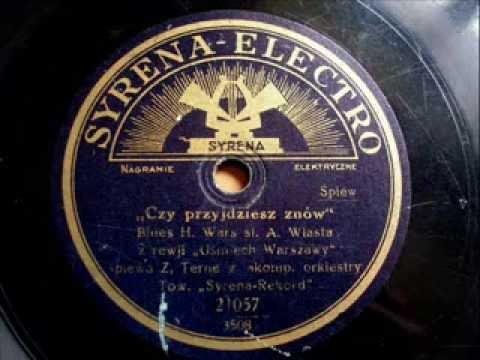 Zofia Terne - Czy przyjdziesz znów (blues)