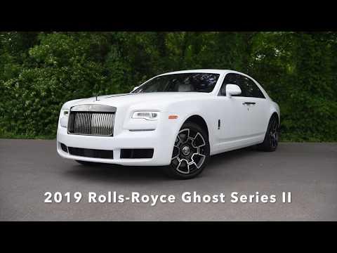New 2019 Rolls-Royce Ghost Black Badge