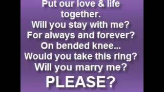 Will you marry me / ALABAMA