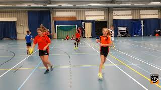 Handball - warm up drill