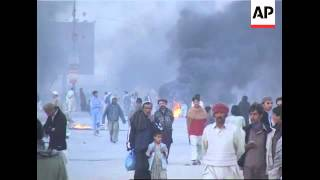 Violence in Karachi after killing of Pashtun party leader