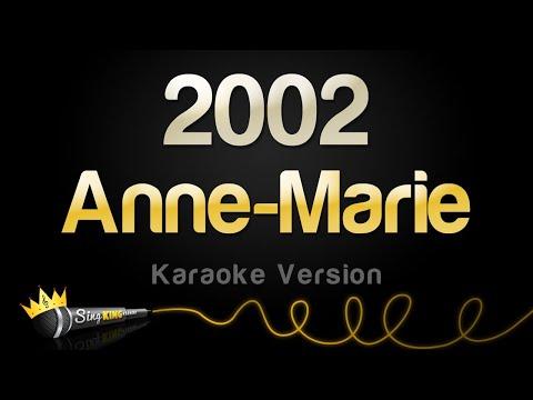 Anne Marie 2002 Karaoke Version