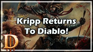 Kripp Returns To Diablo!