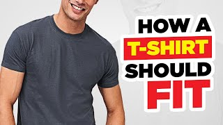 How A T-Shirt SHOULD Properly Fit In 5 Minutes!