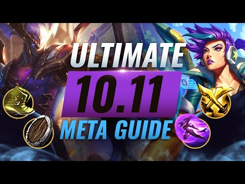 HUGE META CHANGES: BEST NEW BUILDS For EVERY Role - League of Legends Patch 10.11