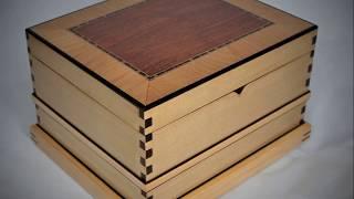 Making A Decorative Wooden Keepsake Box Demonstration