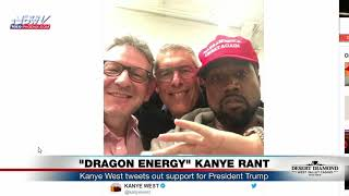 KANYE WEST LOVE FOR TRUMP: Tweets Out Support For President Trump (FNN)