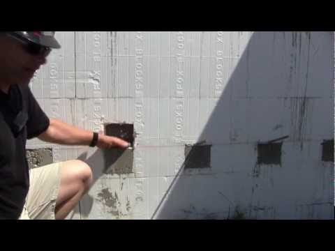 Fox Blocks How To provide Slab Support against Insulated Concrete Forms