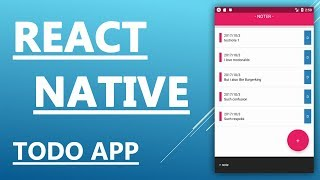 How to make an app - React Native Tutorial - Create a Todo App in 25 minutes