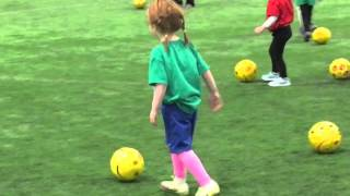 Soccer Practice 3 and 4 year old