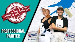 Hired or Fired: Professional Painter For A Day (Feat. Sandra Riley Tang)