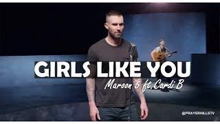 Maroon 5   Girls Like You Ft  Cardi B (Clean)