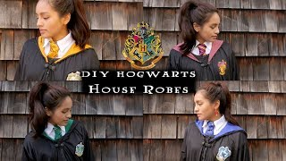 DIY Hogwarts Robes (Transform One Robe Into Four Houses)