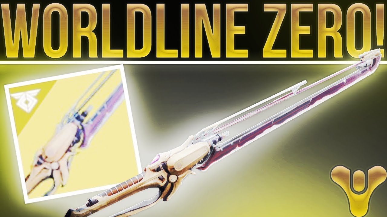 Worldline Zero Sword (+ Exotic Sparrow option) boost carry