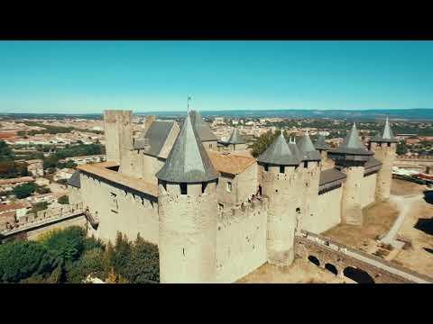 chateau et remparts de la cite de carcassonne carcassonne. Black Bedroom Furniture Sets. Home Design Ideas