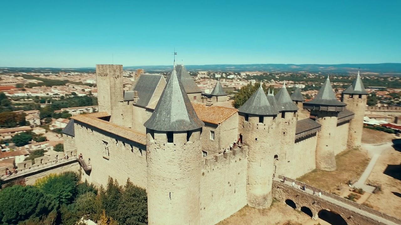 Château et remparts de la Cité de Carcassonne - Pays Cathare, 21 sites d'exception