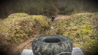 FTX Kanyons at Bestwood old Quarry on trail PHAT CHANCE FPV.