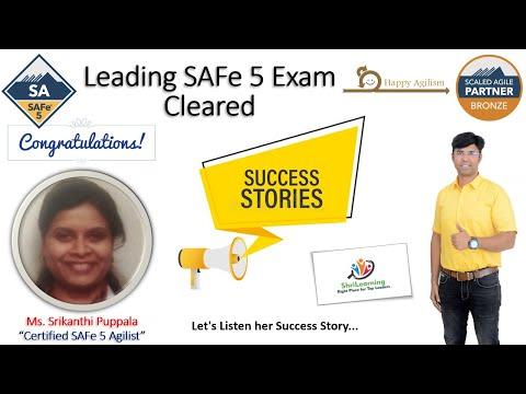 Ms. Srikanthi Puppala - Cleared Leading SAFe 5 Exam - 91% Score ...