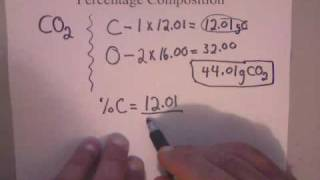 How To Calculate Percent Composition   Www.whitwellhigh.com