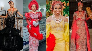 2020 LATEST AFRICAN TRADITIONAL WEDDING STYLES #NATIVE WEDDING DRESSES #FASHION GALLERY