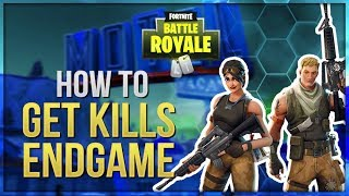 HOW TO WIN | Get Kills Endgame (Fortnite Battle Royale)