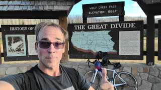 Most Dangerous Highway in Colorado on Bike, Wolf Creek Pass, FPV, 10,857 ft Elevation