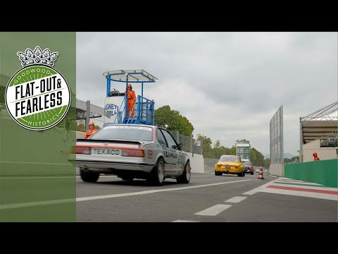 Pure noise: BMW 635 CSi, Ford Mustang, Capri and more leave the Monza pits